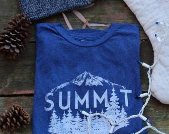 Vintage Blue Summit Tee