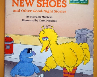 Herry's New Shoes and Other Goodnight Stories/A Golden Book/Sesame Street Good-Night Stories/Featuring Him Henson's Sesame Street Muppets