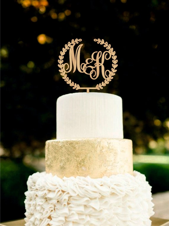 personalised silver wedding cake toppers custom monogram wedding cake topper initial by 18223