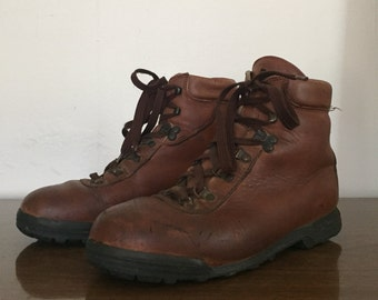 Vintage 8 1/2 Hiking Boot by Vasque Made in Italy