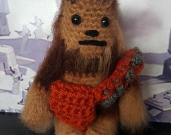 Crochet Chewbacca Star Wars plush toy / amugurumi
