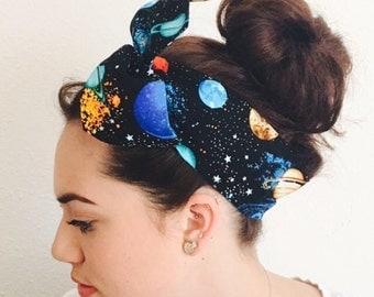 Space Twisty Headband