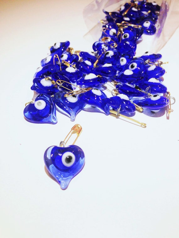 SALE 50 pcs Glass wedding favors evil eye -unique wedding favors ...