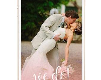 Snapchat Geofilter Wedding: Custom Geofilter, Snapchat Geofilter, Personalized Geofilter, Wedding Snapchat Filter, Custom Wedding, gift, 015