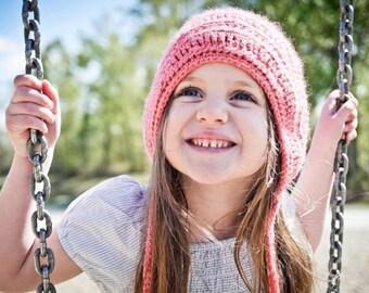 Crochet Hat PATTERN: Crochet Bonnet Pattern, Baby Bonnets, Crochet Baby Hats, Crochet Hat, Vintage Hat Pattern, Hat Patterns, WeeYarn