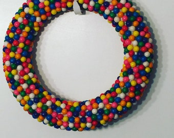 Bubblegum Summertime Fun Wreath