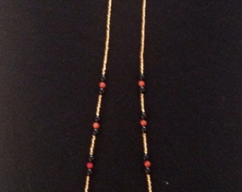 Indian-Style Beaded Necklace