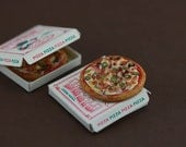 Crispy Bacon Pizza - 1:12 Dollhouse Miniature Food