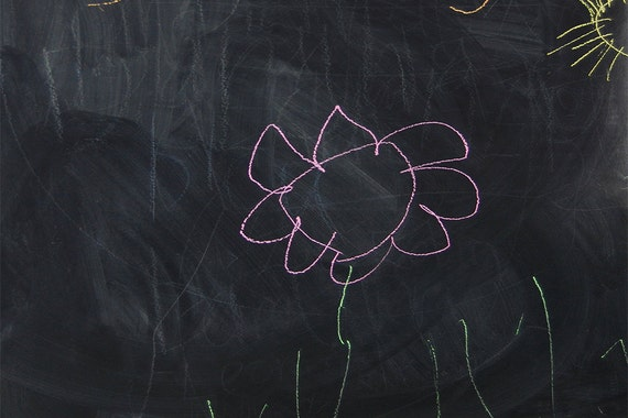 A Made to Measure Chalkboard Decal