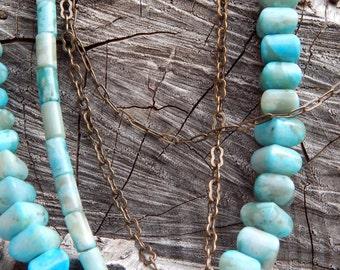 Raine multistrand jade necklace