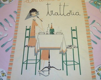 Vintage Milvia Towel Sunday is Midcentury Mangia Day