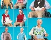 ADULT BIB Sewing Pattern - Bibs Clothing Protectors & Hats 2687