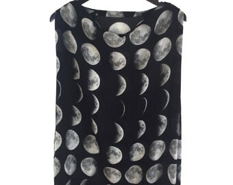 Moon Phase Voile Spring Dress