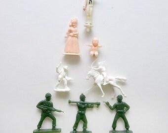 Miniature  Plastic Figurines