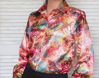 Satin Collared Blouse (UK8-12)