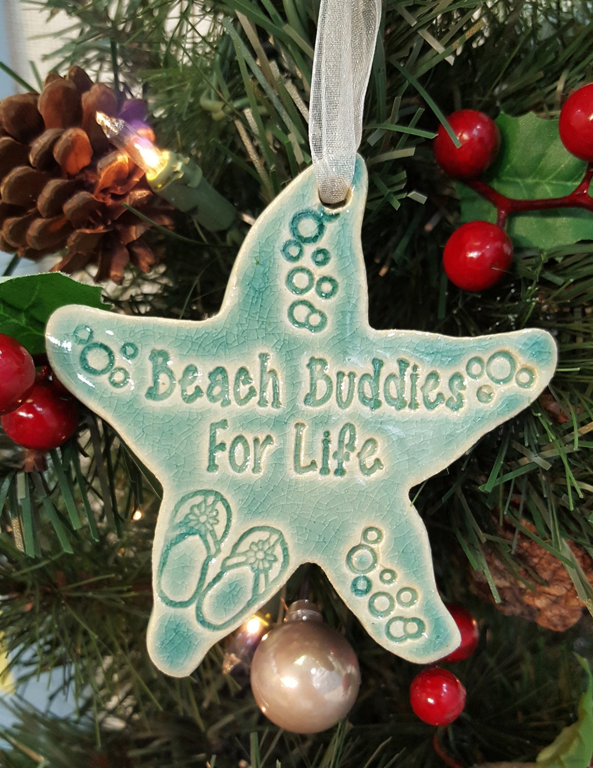 best friend gift Christmas ornament Christmas gift for friends