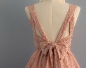 Pink dress pink nude dress dusty pink lace dress pink party dress rose prom dress dusty pink bridesmaid dresses lace cocktail dress