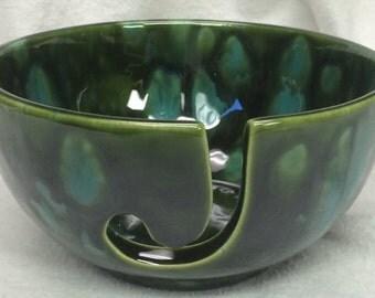 Ceramic Yarn Bowl | Knitting | Yarn Bowl | Pottery | handmade in my Charleston, SC studio