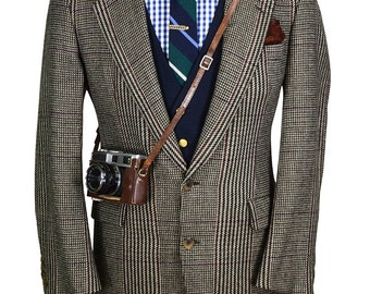 Nicely Tailored 38R Soft Luxurious Wool USA Made Men's Blazer