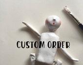 Custom order for Karla & Kyle custom cake topper wedding cake topper