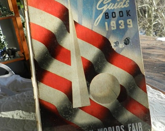 Vintage New York Worlds Fair Guide Book -  1939