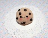 Kawaii Chocolate Chip Cookie Plush Charm-Plushie-Kawaii-squishy-Kawaii squishy-Chocolate Chip Cookie-Toy-Brown-cookie
