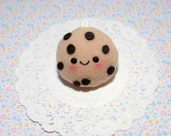 Kawaii Chocolate Chip Cookie Plush Charm-Plushie-Kawaii-squishy-Kawaii squishy-Chocolate Chip Cookie-Toy-Brown-cookie
