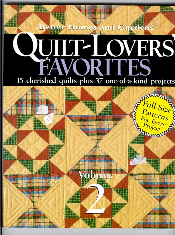 Book Cover Vintage Quilt : Quilting book quilt patterns with instructions patchwork