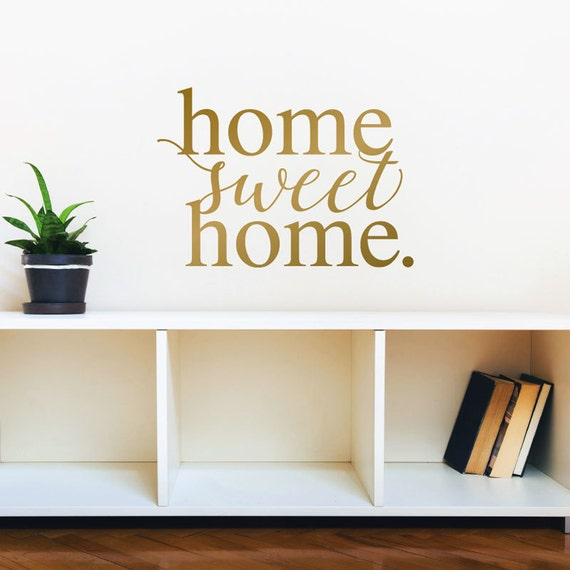 Foyer Paint Quotes : Home sweet vinyl wall decal decor quote by