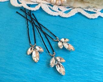 Wedding Hair Pins, Bridal Hair Pins Rhinestone Headpiece, wedding hair accessories bridal headpiece, hair pins silver, hair pins 471748796