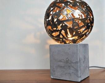 Industrial Key Ball Lamp