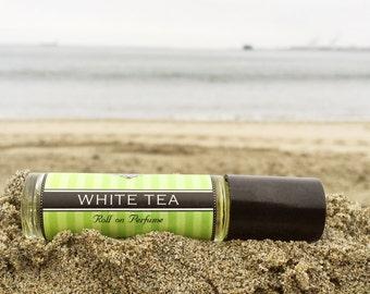 WHITE TEA || Roll on Perfume || Long lasting perfume || vegan perfume