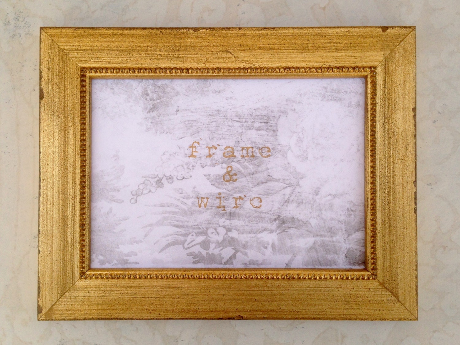 Shabby chic vintage gold picture frame 4x4 4x6 5x7 8x8 for American frame coupon