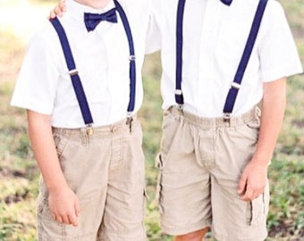 Little Boys Bow Ties Suspenders And Ties By TheLittlestGentleman