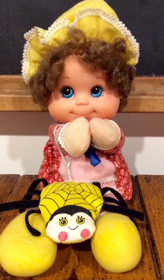 1976 Mattel Baby Beans Little Miss Muffet Doll With A Her