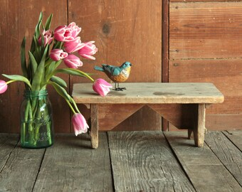 Rustic Plant Stand Etsy