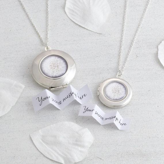 Personalised Make a Wish Dandelion Locket