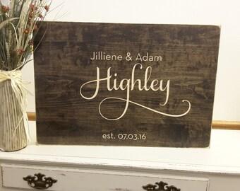 Wedding Guest Book Alternative - Rustic Wedding Decor - Guest Book Wood Sign - Wedding Guest Sign In