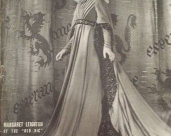 Life Magazine, May 6, 1946 - Margaret Leighton-Rare 1940s D450