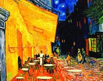 Vincent Van Gogh Cafe De Terrace Poster