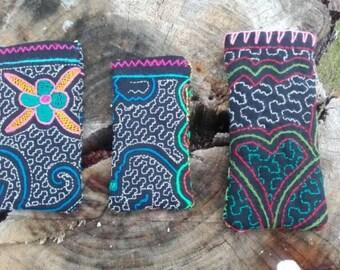 Shipibo pouch, Shipibo Handytasche, Ayahuasca