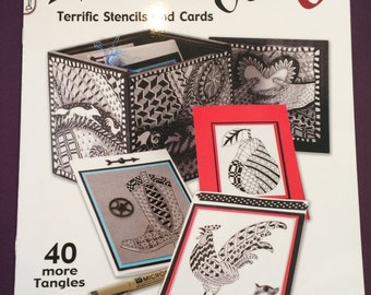 SALE! Zentangle Book 6: Terrific Stencils and Cards was 8.95 now 6.50