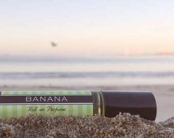 BANANA || Roll on Perfume || Smells exactly like the Banana fruit || in a spray or roll on perfume || 25% off sale on your FIRST order