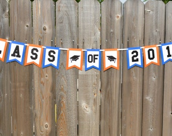 Graduation Party Banner Class of 2016 Banner High School Graduation Banner High School Graduation Party Decorations Senior Pictures Prop