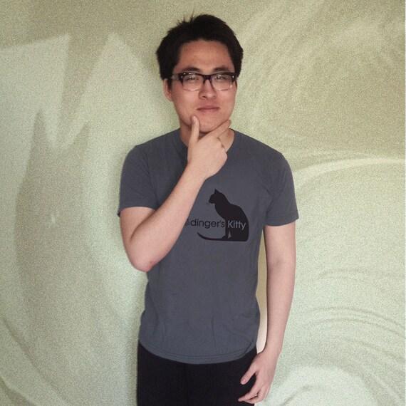 Schrödinger's Kitty T-Shirt - Grey
