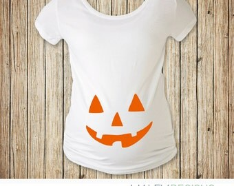 Halloween Maternity Shirt, Maternity Halloween Costume, Pregnant Halloween Shirt, Maternity Halloween Shirt, Pumpkin Halloween Costume