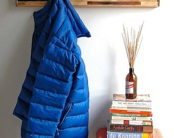 Coat Rack Reclaimed Wood  - Kubala Style