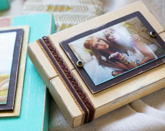 White Picture Frame | White | Rustic Frame 4x6