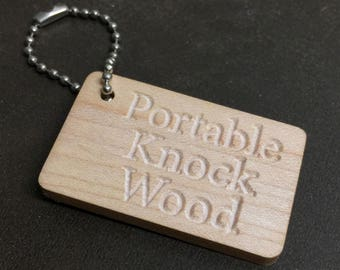 Portable Knock Wood