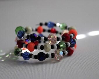 Pride I- Coil Bracelet